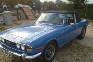1975 TRIUMPH STAG AUTO BLUE