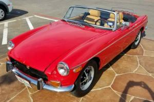 1971 MG MGB Convertible Classic Collector Roadster 19k miles!! Photo
