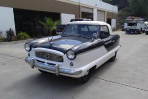 1957 Nash Metropolitan Couptavertible