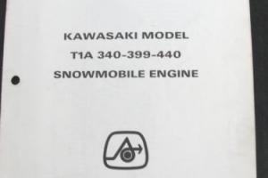 1972 ARCTIC CAT PANTHER TURF TIGER T1A 340 399 440 ENGINE SNOWMOBILE PART MANUAL