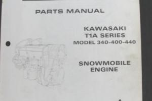 1971 ARCTIC CAT PANTHER TURF TIGER T1A 399 400 440 ENGINE SNOWMOBILE PART MANUAL