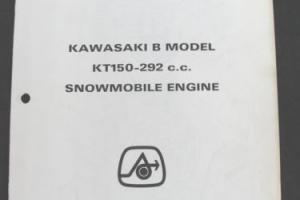 1972 ARCTIC CAT PANTHER PUMA LYNX KT-150 292 B ENGINES SNOWMOBILE PARTS MANUAL Photo