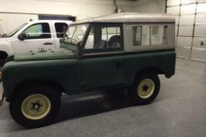 1965 Land Rover Series 2A Photo