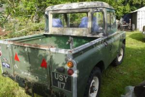 1959 series 2 landrover 88 inch mot tax exempt early series project restoration