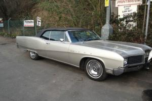 1967 BUICK ELECTRA 225 CONVERTIBLE mega rare only one in the UK