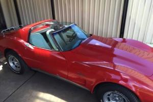 1976 350 Corvette Stingray T TOP Coupe in SA