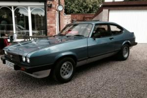 FORD CAPRI 2.8 INJECTION EARLY MODEL WITH FULL MOT MAY PX