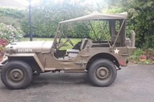 Willys MB WW2 Jeep