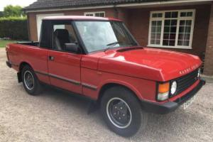 1987 RANGE ROVER CLASSIC PICK UP TRUCK CONVERSION 3.5 V8 RARE