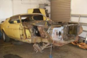 1973 Ford Mustang Mach 1 For Restoration £4950
