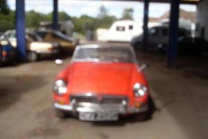 1965 (C) MG MGB Roadster for Restoration £4495