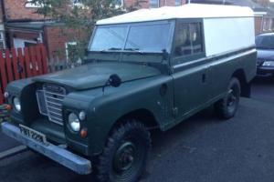 "1973 Land Rover Series 3 LWB 109"""