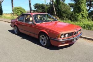 BMW 635 CSI, RETRO CAR, LOW MILEAGE, COUPE, 1980 SUPER RARE COLOUR