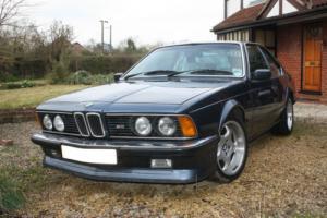 1986 BMW M635 CSI BLUE