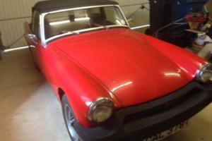 MG Midget 1500 - Red - Fantastic Condition