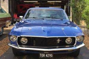 1969 FORD MUSTANG MACH 1 - RECENT DRY STATE IMPORT REFURBISHED