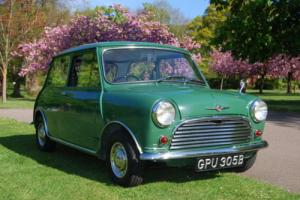 MORRIS MINI MINOR GREEN 1964 LITTLE GREEN PIECE OF HISTORY price dropped