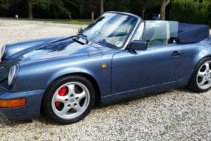 1990 PORSCHE 964 / 911 CARRERA 2 CABRIO Manual without 911 Plate