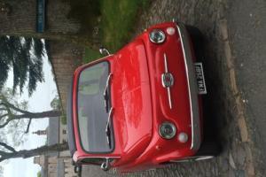 Classic fiat 500 1967 FIAT 500 RED