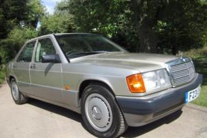 """MERCEDES-BENZ 190E 2.0 AUTO """" Covered ONLY 58K miles & OVER 27 years old!!"""""""