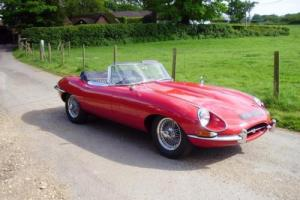 JAGUAR 'E' TYPE SERIES 1 OPEN TOP SPORTS