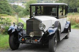 1930 Rolls-Royce 20/25 Barker Limousine GDP50