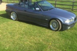 1998 BMW 328I CABRIO BLUE E36