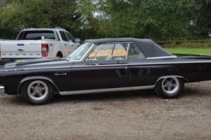 1965 DODGE CORONET 500 CONVERTABLE BLACK VERY RARE CAR