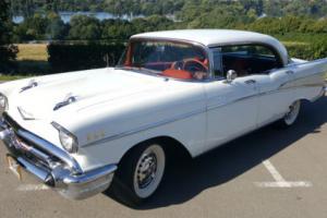 1957 Chevy Chevrolet Bel Air 4 door pillarless Hardtop 74'000 miles