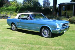 STUNNING 1965 289/AUTO FORD MUSTANG CONVERTIBLE, FULL FACTORY OPTIONED CAR