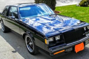 1987 Buick Grand National grand mational