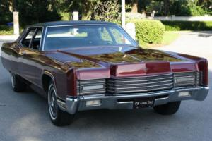 1970 Lincoln Town Car ORIGINAL SURVIVOR - 27K MI