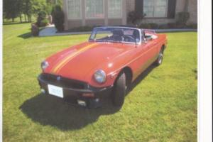 1980 MG MGB Photo