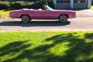 1976 Cadillac Eldorado pink panther