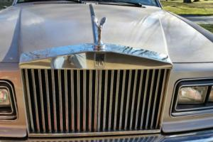 1984 Rolls-Royce Silver Shadow