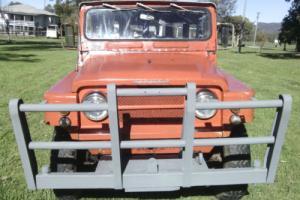 1970 60SERIES Nissan Patrol 4WD Cheap Collectable Comp Truck Beach Farm ETC