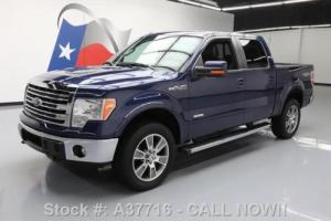 2014 Ford F-150 LARIAT CREW ECOBOOST 4X4 LEATHER