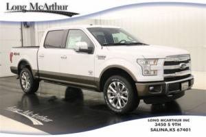 2016 Ford F-150 KING RANCH 4X4 SUPERCREW MSRP $61490