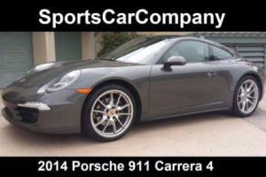 2014 Porsche 911 2dr Coupe Carrera 4
