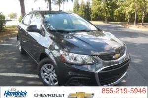 2017 Chevrolet Sonic 4dr Sedan Automatic LS