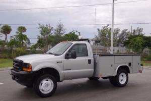 2001 Ford F-550 Service Utility Body FL Truck