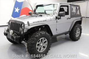 2014 Jeep Wrangler RUBICON 4X4 6-SPEED LEATHER 35'S