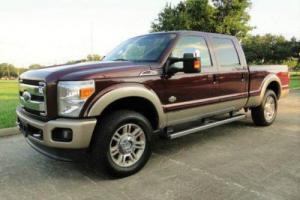 2011 Ford F-250 King Ranch 4x4 4dr Crew Cab 6.8 ft. SB Pickup
