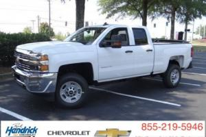 "2016 Chevrolet Silverado 2500 2WD Double Cab 144.2"" Work Truck"