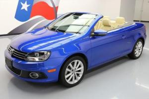 2012 Volkswagen Eos KOMFORT CONVERTIBLE HARD TOP