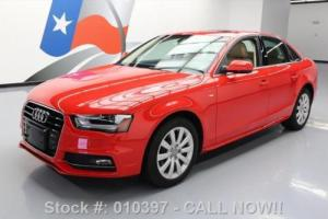 2016 Audi A4 2.0T PREMIUM S-LINE LEATHER SUNROOF