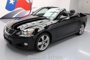 2010 Lexus IS 250C CONVERTIBLE CLIMATE SEATS ALLOYS