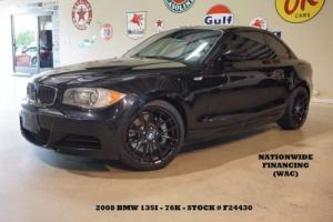 2008 BMW 1-Series Coupe AUTO,SUNROOF,LEATHER,BLACK WHLS,76K,WE FINANCE