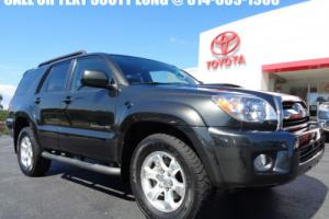 2007 Toyota 4Runner 2007 Sport 4x4 Shadow Mica Paint V6 1 Owner 4WD