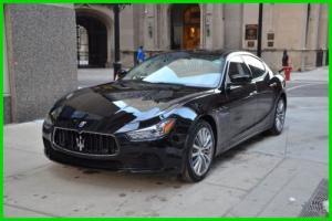 2016 Maserati Ghibli 2016 Maserati Ghibli S Q4